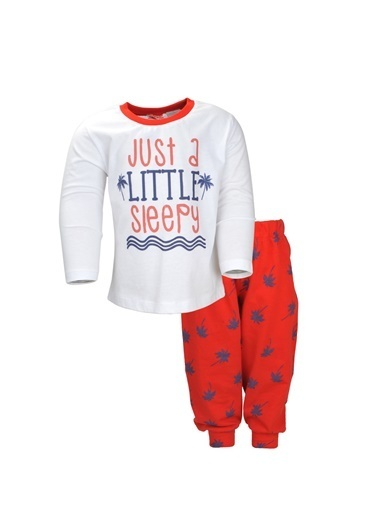 Zeyland Kırmızı Palmiye Pijama Takımı (1-5yaş) Kırmızı Palmiye Pijama Takımı (1-5yaş) Kırmızı